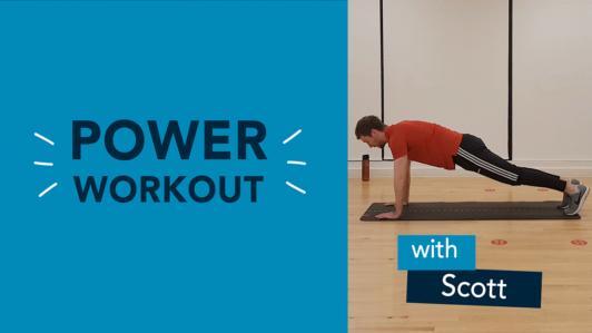 Tuesday Power Workout Scott