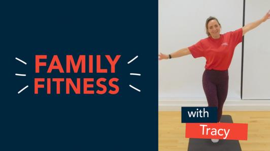 Saturday Family Fitness Tracy