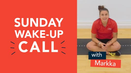 Sunday Wake Up Call Markka