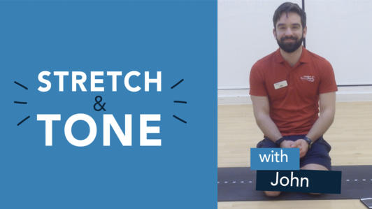 Friday Stretch Tone John