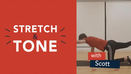 Sunday Stretch Tone Scott